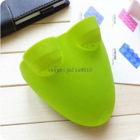 [globalbuy] silicone glow heat resistant gloves frog styling oven mitt oven gloves DIY cak/3141816