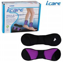Toko Alat Fitnes I Care Angkle Weight Strap [1kg/pcs/Total 2kg/psg]