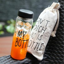 My Botol / My Bottle Infused Water Free Bag 500ml ( Tritan BPA Free )