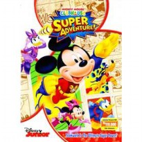 [DVD] MICKEY MOUSE CLUBHOUSE : SUPER ADVENTURE [License Indonesia]