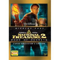 [DVD] National Treasure 2 : Book of Secrets (2 discs) [Licensed Indonesia]