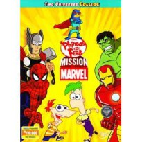 [DVD] Phineas And Ferb : Mission Marvel [Licensed Indonesia] film