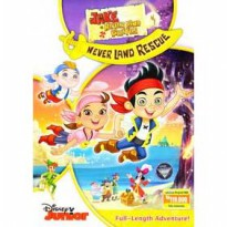 [DVD] Jake and the Never Land Pirates : Never Land Rescue [Licensed Indonesia]