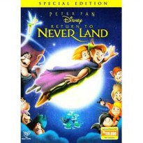 [DVD] Peter Pan 2 : Return To Neverland Special Edition [Licensed Indonesia]