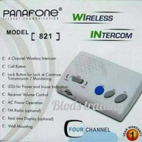 Baby Monitor Interkom Wireless Panafone 821