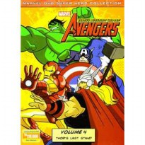 [DVD] Marvel The Avengers Earth's Mightiest Heroes vol.4 : Thor's Last Stand [Licensed Indonesia]