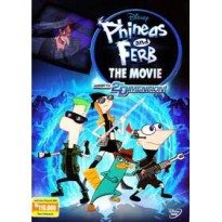 [DVD] Phineas And Ferb The Movie : Across the Second Dimension [Licensed Indonesia]