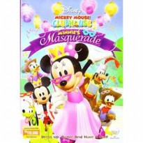 [DVD] Mickey Mouse Clubhouse : Minnie's Masquerade [Licensed Indonesia]