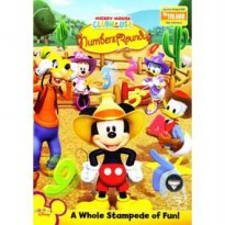 [DVD] Mickey Mouse Clubhouse : Numbers Roundup [Licensed Indonesia]