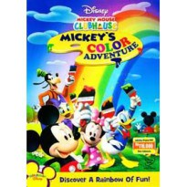 [DVD] Mickey Mouse Clubhouse : Mickey's Color Adventure [Licensed Indonesia]
