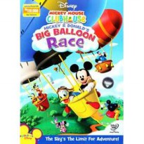 [DVD] Mickey Mouse Clubhouse : Mickey & Donald's Big Baloon Race [Licensed Indonesia]