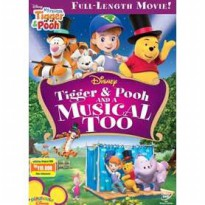 [DVD] My Friend Tigger & Pooh : Tigger Pooh and a Musical Too [Licensed Indonesia]