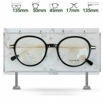 Kacamata watson Coach Black Gold Frame Kacamata Fashion