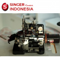 Mesin Obras SINGER 81A1 (Head Unit and Dinamo)