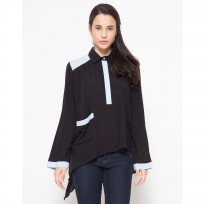 Cottonese Dynamic Tops - Black/Blue