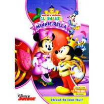 [DVD] MICKEY MOUSE CLUBHOUSE : MINNIE-RELLA [License Indonesia]