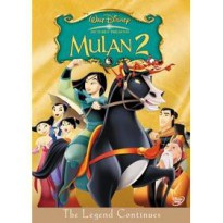[DVD] MULAN 2 [Licensed Indonesia] film