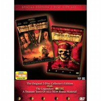 [DVD] PIRATES OF THE CARRIBEAN & THE LOST DISC [Licensed Indonesia]