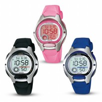 JAM TANGAN CASIO LADY DIGITAL ORIGINAL WATCH LW 200 series [petite size]