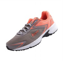 League Legas Series Corona LA W Running Shoes - Grey Orange