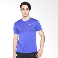 NIKE As M Znl Cl Relay Top Ss Kaos Olahraga - Blue 833581-452