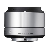 SIGMA 19mm f/2.8 DN | A For SONY E-Mount Silver
