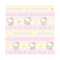 Sanrio Wallpaper KT 101 Border Hello Kitty Dekorasi dinding