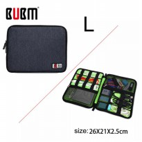 BUBM - Electronics Accessories Bag Double Layer Travel Organizer