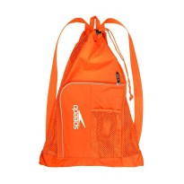 Speedo Mesh Bag Ventilator Tas Olahraga Air - Orange