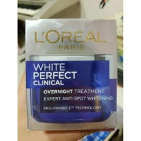 L'OREAL WHITE PERFECT CLINICAL OVERNIGHT TREATMENT 50 ML LOREAL NIGHT CREAM