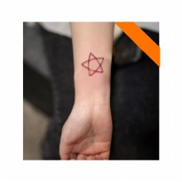 HO3018 - Tattoo Star HC38