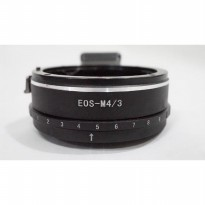 Lens Adapter Aperture - Canon EF To Olympus Micro 4/3 / EOS - M4/3