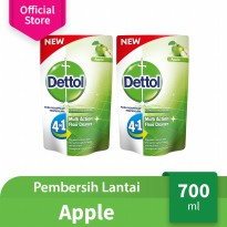 Dettol Floor Cleaner Apple 700 ml x 2