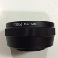 Fotga Lens Adapter, M42 To Panasonic Olympus / M42 - M4/3