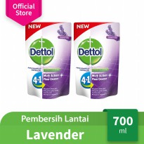 Dettol Floor Cleaner Lavender 700ml x 2