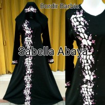 abaya bordir barbie