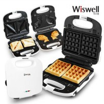 [Wiswell] WSW-6137 Mini Toaster & Waffle Baking Oven Small Appliance / 3TYPE or 5TYPE Choice