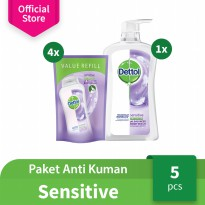 Dettol Paket Anti Kuman Varian Sensitive