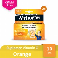 Airborne Effervescent Orange 10 Tablet - 2pcs