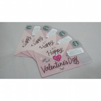 Starbucks Card Valentine Edition Australia