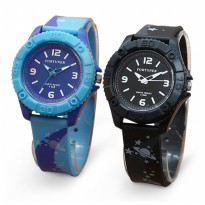 [Fortuner] Jam Tangan Wanita Original Rubber - 3 Model