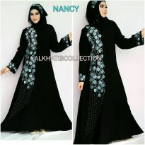 abaya bordir nancy