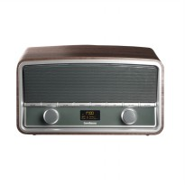 Goodmans Heritage Digital Radio GSR1889DABBTW - Wood