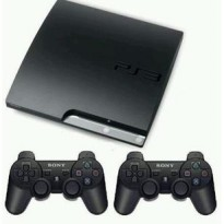 Playstation 3 Slim Sony + Hdd 160gb + 2 Stick Warlles