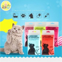 Cat grooming bag bath tas mandi kucing