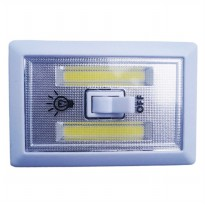 Lampu Tempel LED Kotak Stick Touch Lamp Cob LED 3W
