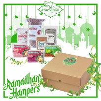 Hampers Box F (Parcel / Gift box)