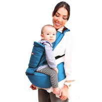 Gendongan Bayi Kiddy Carrier Hip Seat Blue