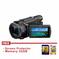 SONY FDR-AXP55 4K Handycam with Built-in projector - FREE Accessories