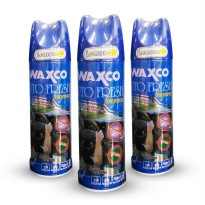 Waxco Auto Fresh Fragrance 200 ml AROMA LEMON - Parfum Pengharum Mobil Original Made In Malaysia
